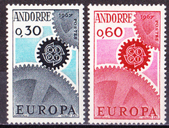 Franz. Andorra - Mi.Nr. 199 - 200 - Postfrisch MNH - Europa CEPT