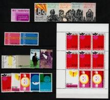 ~~~ Netherlands 1971 - Complete Year Set / Compleet Jaar - NVPH 984/1001  ** MNH ~~~ - Full Years