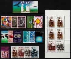 ~~~ Netherlands 1974 - Complete Year Set / Compleet Jaar - NVPH 1043/1063  ** MNH ~~~ - Full Years