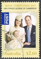 Australia 2014 Royal Christening $2.60 Sheet Stamp Good/fine Used [30/27247/ND] - Used Stamps