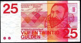 Netherlands 25 Gulden 1971 VF P-92a - [2] 1815-… : Reino De Países Bajos