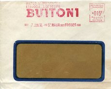 18804 France, Red Meter Freistempel Ema, 1956 St.maur, Culinary Speciality Pasta BUITONI Pates Alimentaires