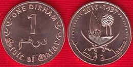 """Qatar 1 Dirham 2016 """"Tamim"""" UNC - Qatar"""