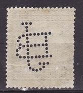 Yugoslavia Kingdom 1925  Mi 187,perfin, Used - Used Stamps