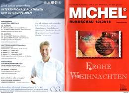 Briefmarken Rundschau MICHEL 12/2016 Neu 6€ New Stamps Of The World Catalogue/ Magacine Of Germany ISBN978-3-95402- - Zeitschriften: Abonnement