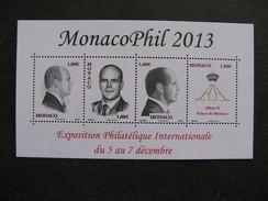 Monaco:  TB Feuille N° F 2903 , Neuve XX .