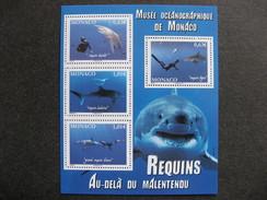 Monaco:  TB Feuille N° F 2883 , Neuve XX .