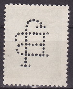 Yugoslavia Kingdom 1931  Mi 229,perfin, Used - 1931-1941 Koninkrijk Joegoslavië