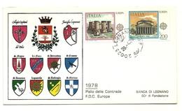 1978 - Italia - Busta Commemorativa Palio Di Legnano