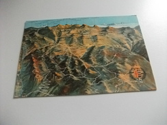CARTA GEOGRAFICA VEDUTA ALTIPIANO ASIAGO - Cartes Géographiques