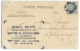 CPA CACHET PARIS - Marcophilie (Timbres Détachés)