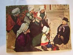 Cp0122 NON ECRITE Le Conteur   Chauvigny 86 Coiffes Des Villages Autour De Chauvigny - Ante 1900