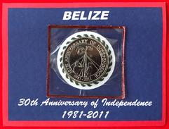 """Belize 2 Dollars 2011 """"Independence"""" UNC - Belize"""