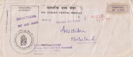 India - Recommandé/Registered Letter/Einschreiben - Bombay Air Port - India