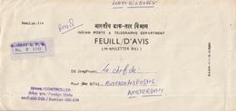 India - Recommandé/Registered Letter/Einschreiben - Bombay G.P.O. - India