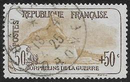 France - Au Profit Des Orphelins De La Guerre - N° 153 Oblitéré.