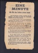 Flugblatt 2. WK Die Nüchterne Wahrheit über Kriegsgefangenschaft - Historische Dokumente