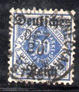XP2530 - TERZO REICH 1920 , Unificato Servizio N. 28 DD Usato .