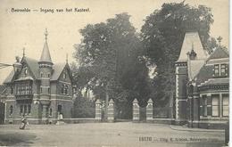 BEIRVELDE - BEERVELDE : Ingang Van Het Kasteel - Cachet De La Poste 1911 - Lochristi