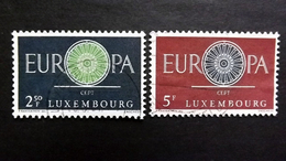 Luxemburg 629/0 Oo/used, EUROPA/CEPT 1960