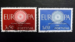 Portugal 898/9 Oo/used, EUROPA/CEPT 1960
