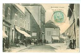 14826      CPA      LAMARCHE  : Rue De La Poste  1906   !  ACHAT DIRECT !! - Lamarche