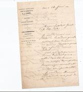 EDOUARD FOUCAUD ECRIVAIN LETTRE A SIGNATURE 1839 (PARLES DE SON LIVRE LES COMEDIENS FRANCAIS DE 1839) - Autographes