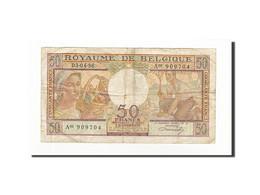 Belgique, 50 Francs, KM:133b, 1956-04-03, TB+ - [ 6] Staatskas