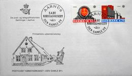 Denmark 1990 EUROPA   MiNr.974-75   FDC  ( Lot 6280 )  COVER  AARHUS Den Gamle By