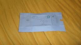 DEVANT DE LETTRE ANCIENNE DE 1867. / Mon GIRKENS & PAPPEL / PARIS A ROUEN. / CACHETS + OBLIT. ETOILE + TIMBRE - Marcofilia (sobres)