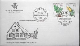 Denmark 1992  EUROPA    FDC  MiNr.1025-26 ( Lot 6280 )    COVER  AARHUS Den Gamle By