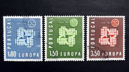 Portugal 907/9 Oo/used, EUROPA/CEPT 1961