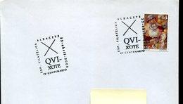18839 Spain, Special Postmark Albacete 2005,  Miguel De Cervantes , Don Quixote - Scrittori