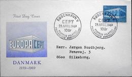 Denmark 1969 EUROPA   MiNr.479 FDC   ( Lot 6280 )