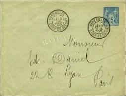 Càd VERSAILLES / CAMP DE SATORY 19 JUIL. 00 Sur Entier 15 C. Pour Lyon. - SUP. - RR.