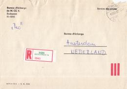 Hongarije - Recommandé/Registered Letter/Einschreiben - Budapest 70 - Marcophilie