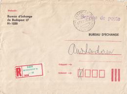 Hongarije - Recommandé/Registered Letter/Einschreiben - Budapest 72 - Marcophilie