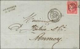 GC 846 / N° 49 Belles Marges Et Exceptionnelle Nuance Càd T 17 CHAMBERY (88). 1871. - SUP. - R.