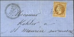 GC 678 / N° 28 Càd T 23 BUSSANG (82) Sur Lettre Locale Pour St Maurice Sur Moselle. 1868....