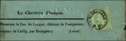 Càd Provisoire VERSAILLES / (P.P.) / N° 20 (def) Sur Bande De Journal Le Chartrier Français Pour...
