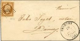 PC 2575 / N° 9 Très Belles Marges Càd T 13 PREMERY Sur Lettre Locale. 1853. - SUP. - R.