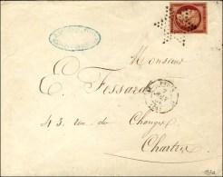 Etoile / N° 6 Càd Superbe Nuance Cerise Càd PARIS (60). 1853. - SUP. - RR.