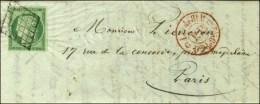 Grille / N° 2 (belles Marges) Càd Rouge De Levée G LEV G / P.P. (Pothion N° 2780) Sur Lettre...