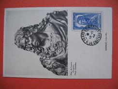 Carte-Maximum    N°  615 Louis II Prince De Condé  1944 - Cartes-Maximum