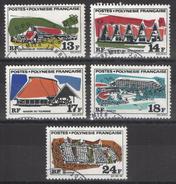 Polynésie - YT 72-76 Oblitérés - Polynésie Française
