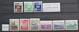 Reich.Besetzung.Festi/Estland.1/9** - Besetzungen 1938-45