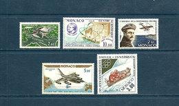 Monaco - 1962-1964 - N° 79 à 83 - Neuf ** TTBE -