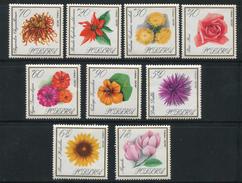 POLOGNE- Y&T N°1546 à 1554- Neufs Avec Charnière * (fleurs)