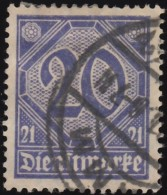 GERMANY - Scott #O5 Numeral / Used Stamp