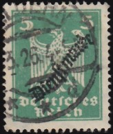 "GERMANY - Scott #O48 Eagle ""Overprinted"" / Used Stamp"